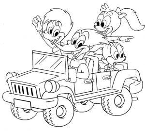 Gambar Mewarnai Kartun Untuk Anak Tk Dan Sd Terbaru 2019
