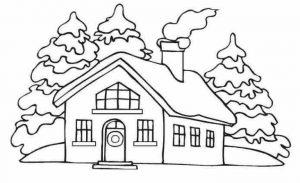 Gambar Mewarnai Rumah Untuk Tk Dan Sd 2019 Marimewarnaicom