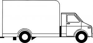 Gambar Mewarnai Kendaraan Mobil Box