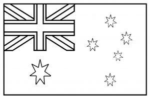 AUSTRALIA Gambar Mewarnai