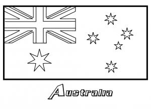 Gambar Mewarnai Australia