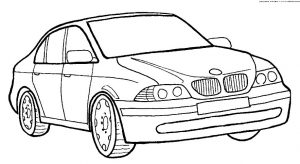 Gambar Mewarnai Mobil BMW