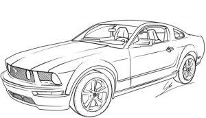 Gambar Mewarnai Mobil Terbaru