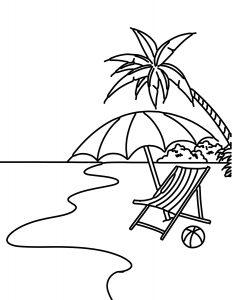 Gambar Pemandangan Pantai Pinggir