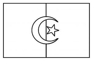 Kumpulan Mewarnai Gambar Bendera Negara Untuk Anak