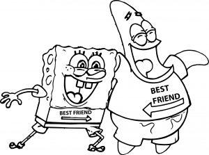 Mewarnai Gambar Spongebob & Patrick