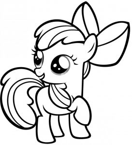 Mewarnai Gambar Unicorn Anak Tk