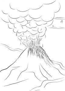 Mewarnai Gunung Merapi Terbaru