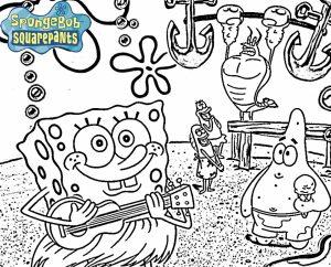 Mewarnai Spongebob Squarepants