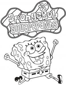 Mewarnai Spongebob Terbaru