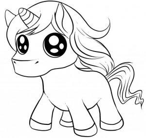 Mewarnai Unicorn