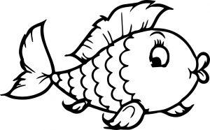 mewarnai ikan ilustrasi