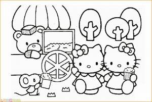 Gambar Mewarnai Hello Kitty 02 Marimewarnai