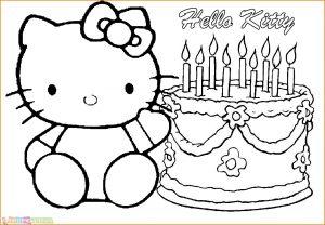 Gambar Mewarnai Hello Kitty 04 Marimewarnai