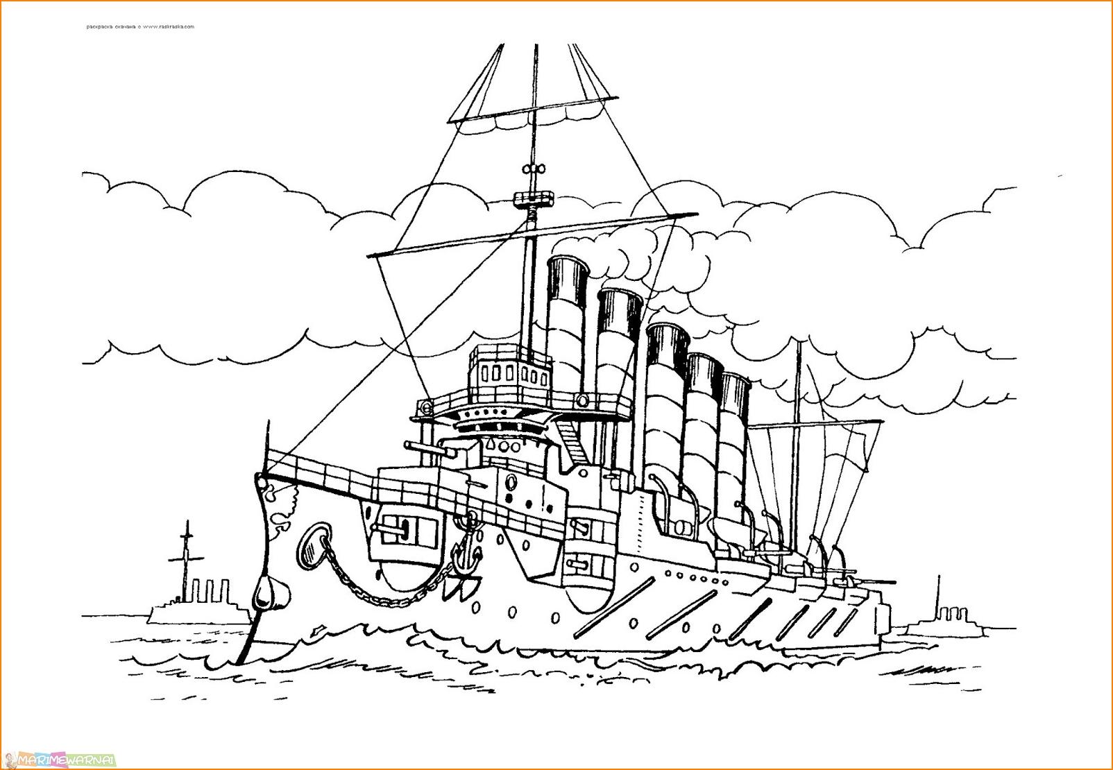 Gambar Cara Menggambar Kapal Pesiar Untuk Anak Jpeg Png Gif Best