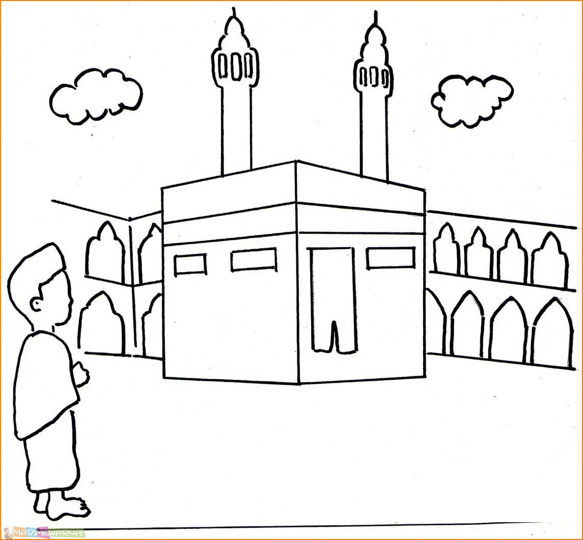 87  Gambar Masjid Nabawi Hitam Putih Terbaik