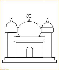 Gambar Mewarnai Masjid Nabawi 28 Marimewarnai