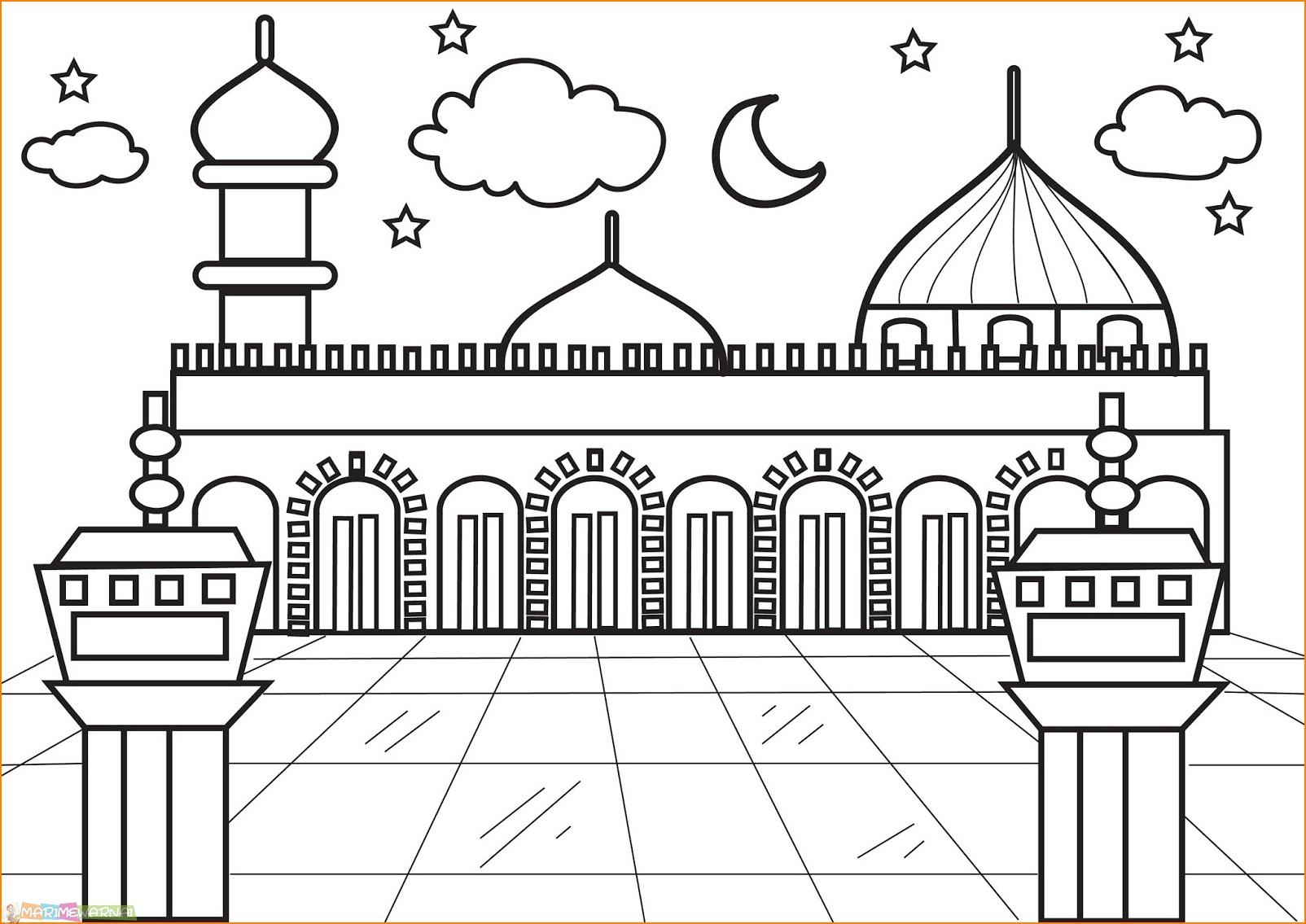 Masjid Untuk Mewarnai Nusagates