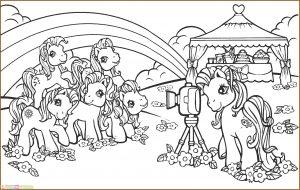 Gambar Mewarnai My Little Pony 02 Marimewarnai