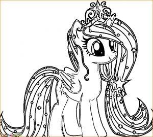 29 Gambar Mewarnai My Little Pony Anak 2018 Marimewarnai Com