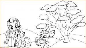 Gambar Mewarnai My Little Pony 08 Marimewarnai