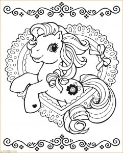 Gambar Mewarnai My Little Pony 12 Marimewarnai