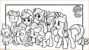 Gambar Mewarnai My Little Pony 13 Marimewarnai