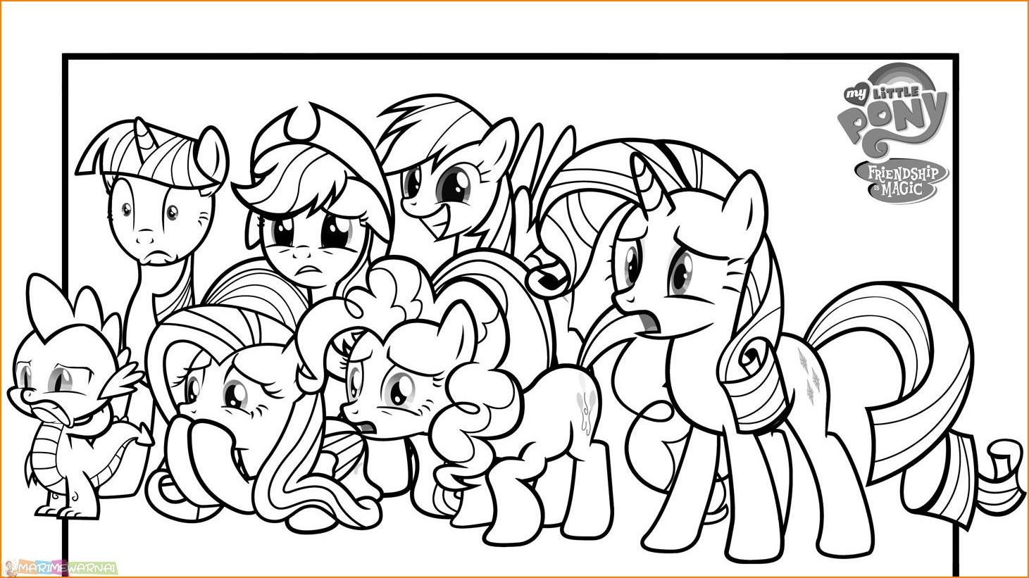 Mewarnai Kuda Poni Kumpulan Contoh Soal 2