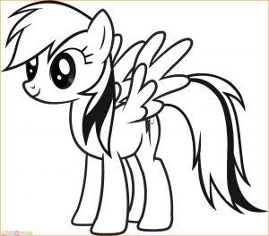 Gambar Mewarnai My Little Pony 15 Marimewarnai