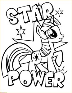 Gambar Mewarnai My Little Pony 20 Marimewarnai
