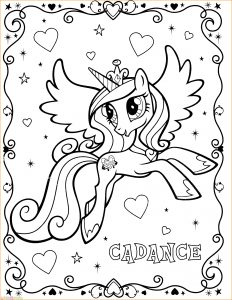 Gambar Mewarnai My Little Pony 21 Marimewarnai