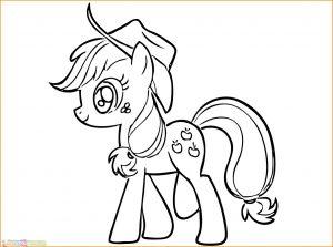 Gambar Mewarnai My Little Pony 22 Marimewarnai