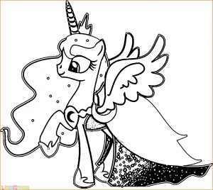 Gambar Mewarnai My Little Pony 24 Marimewarnai