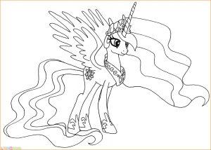 Gambar Mewarnai My Little Pony 25 Marimewarnai