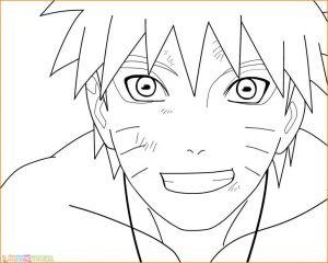 Gambar Mewarnai Naruto 02 Marimewarnai