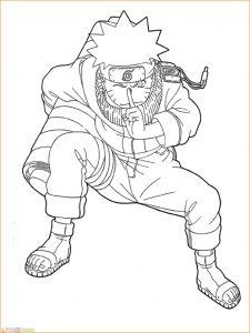Gambar Mewarnai Naruto 03 Marimewarnai