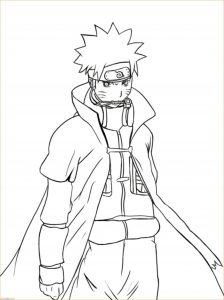 Gambar Mewarnai Naruto 04 Marimewarnai