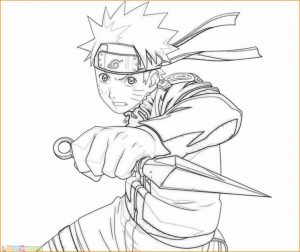 Gambar Mewarnai Naruto 06 Marimewarnai