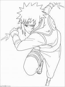 Gambar Mewarnai Naruto 11 Marimewarnai