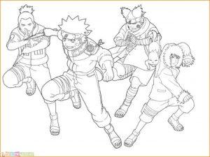 Gambar Mewarnai Naruto 12 Marimewarnai