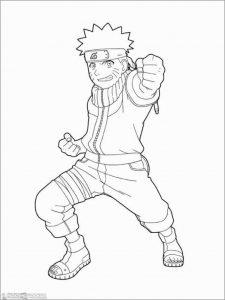 Gambar Mewarnai Naruto 13 Marimewarnai