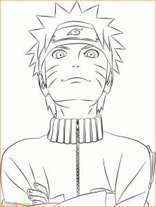 Gambar Mewarnai Naruto 14 Marimewarnai