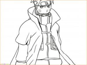 Gambar Mewarnai Naruto 16 Marimewarnai