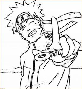 Gambar Mewarnai Naruto 22 Marimewarnai