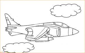 Gambar Mewarnai Pesawat 12 MariMewarnai