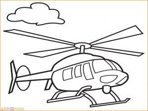 Gambar Mewarnai Pesawat 17 MariMewarnai