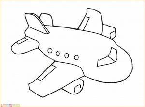 Gambar Mewarnai Pesawat 19 MariMewarnai