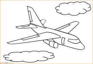Gambar Mewarnai Pesawat 26 MariMewarnai