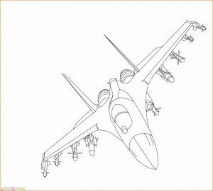 Gambar Mewarnai Pesawat 27 MariMewarnai