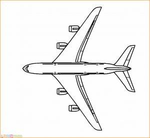 Gambar Mewarnai Pesawat 28 MariMewarnai